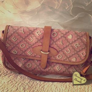 Dooney & Bourke pink purse